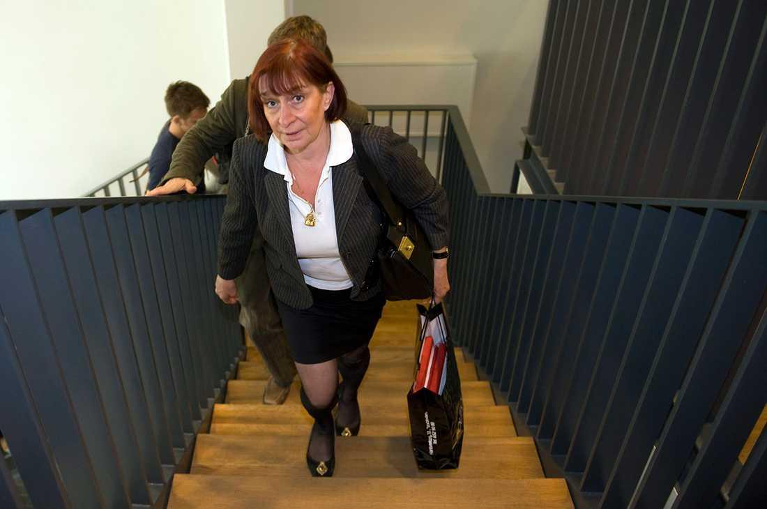 """""""Polisen gick bakom ryggen på mig"""", säger Karin Bergstrand, åklagare och förundersökningsledare."""
