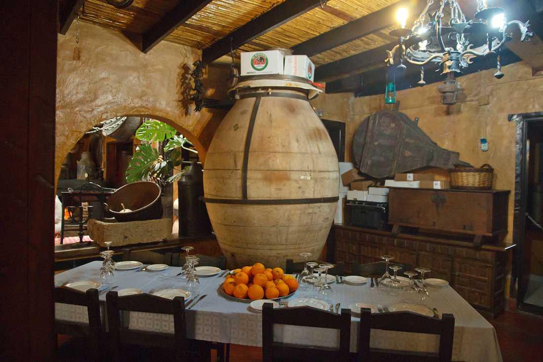 Martell har funnits i den lilla bergsbyn Santa Brigída i många decennier.