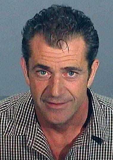 """Mel Gibson Skådespelaren och regissören blev """"Mad Mel"""" med hela världen sedan han åkt fast för rattfylla i juli 2006. Under gripandet fick han ett hjärnsläpp och skrek antisemitiska och sexistiska förolämpningar mot poliserna. Något han sedan fick äta upp. Bildligt talat."""