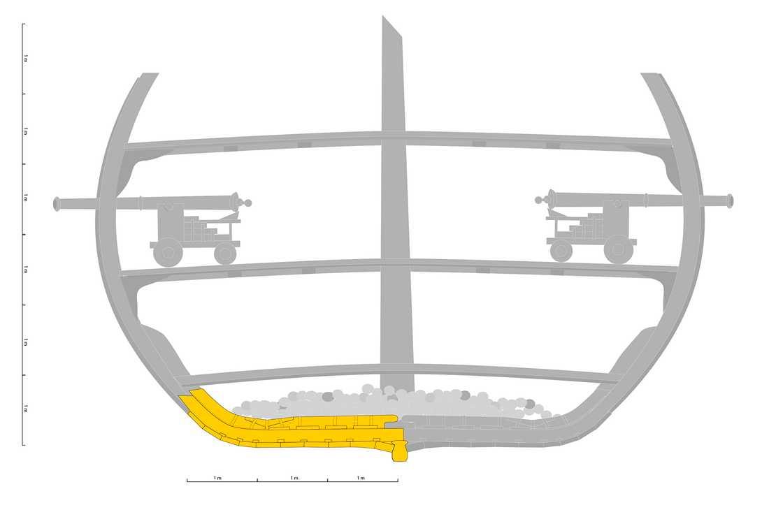 VRAK - Museum of wrecks har gjort en 3D-rekonstruktion av skeppet.