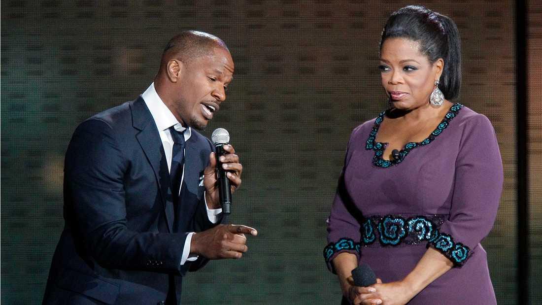 Jamie Foxx och Oprah Winfrey.