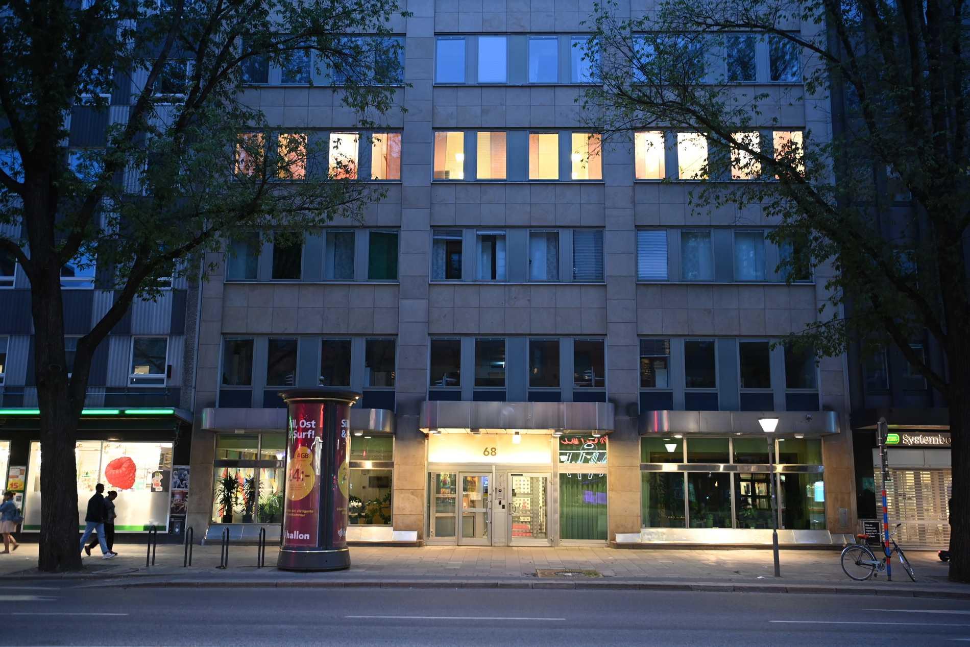 S-högkvarteret på Sveavägen i centrala Stockholm.