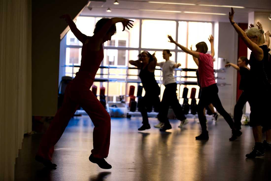 Friskis & Svettis medlemmar får möjlighet att delta i en träningsstudie. Arkivbild.