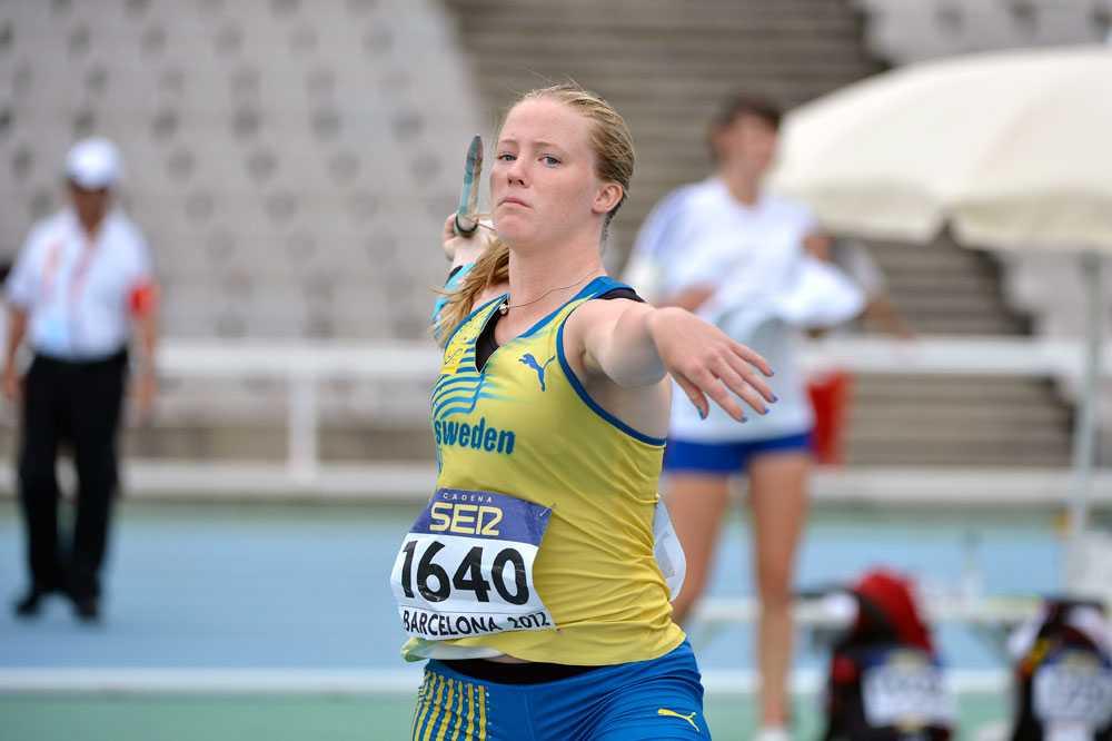 Sofi Flinck fokuserad inför rekordkastet.