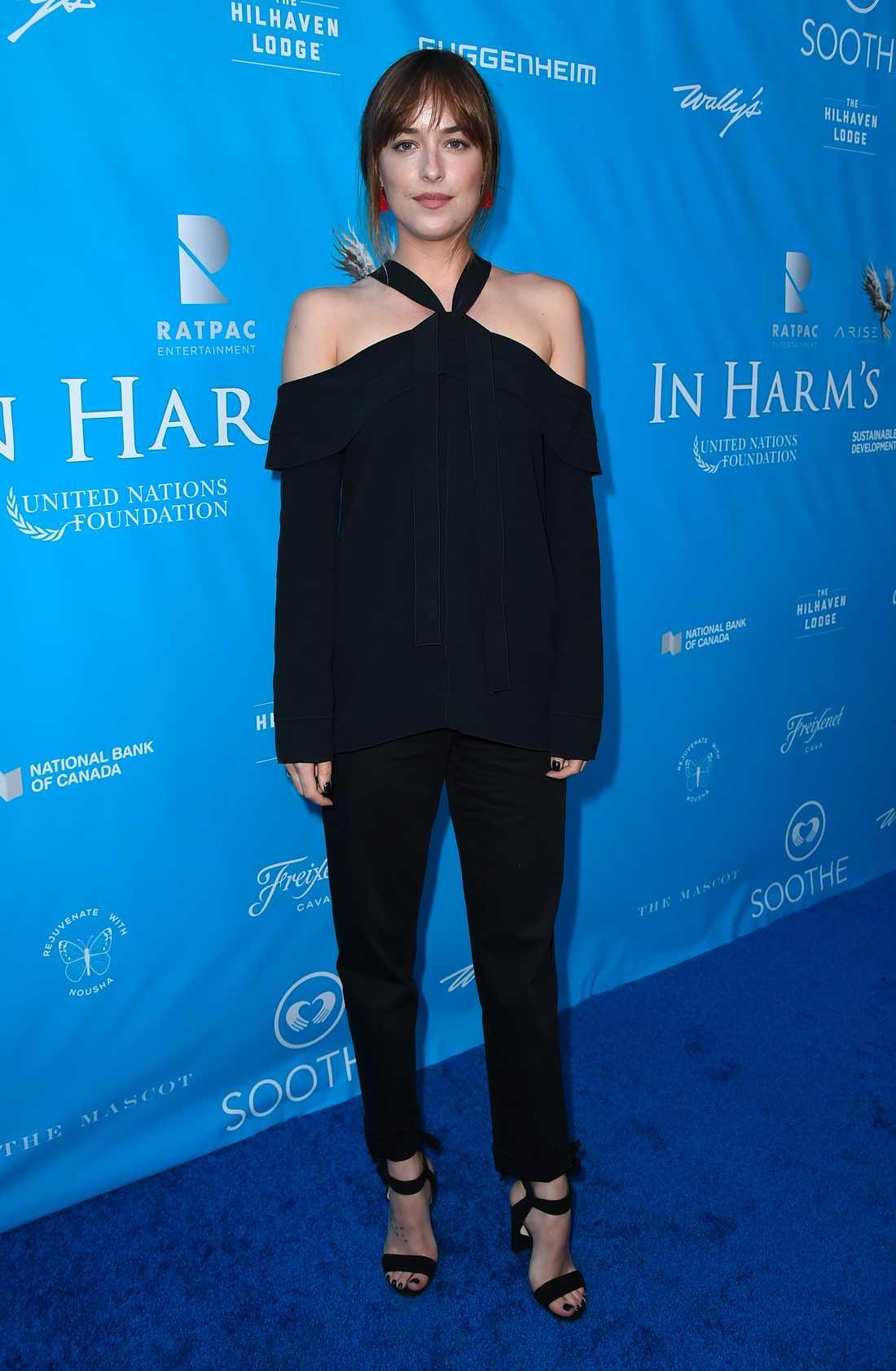 Skådespelaren Dakota Johnson.