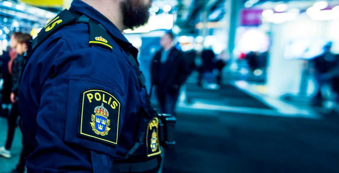 Polisen kunde identifiera den misstänkte 21-åringen genom kameraövervakning. Arkivbild.