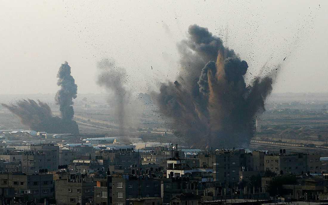 Från avfyrning i Israel till nedslag i Gaza tar det bara några sekunder.