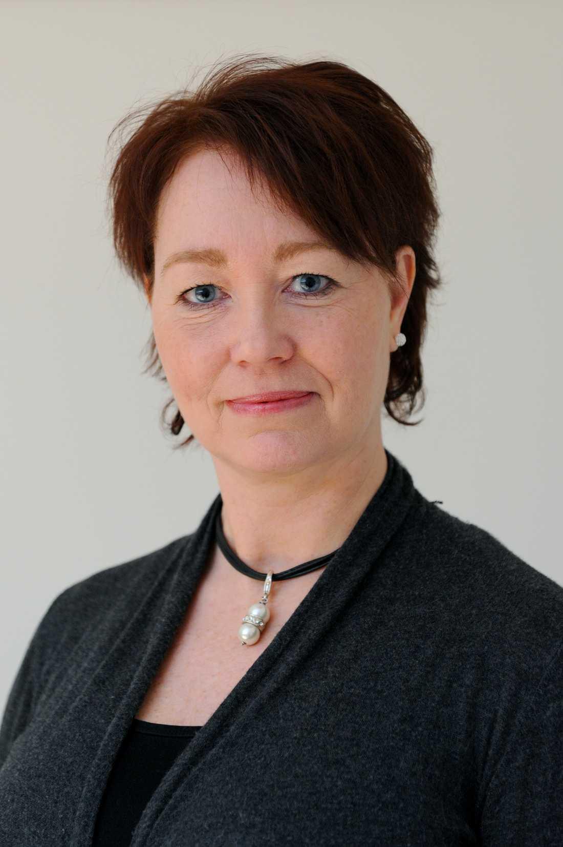 LÖSNINGEN Louise Levin är informationschef på F21 i Luleå.