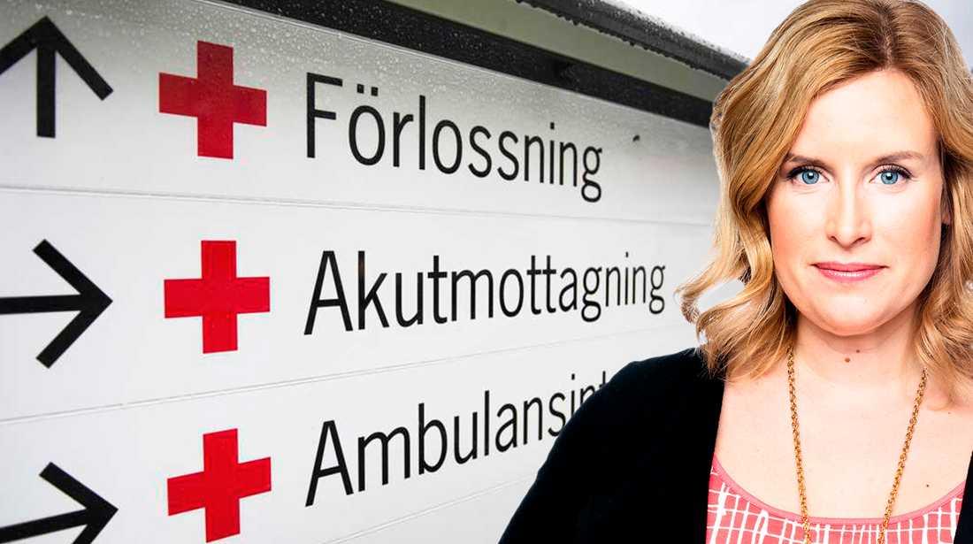 Angelica Öhagen skriver om svenska förlossningsvården.