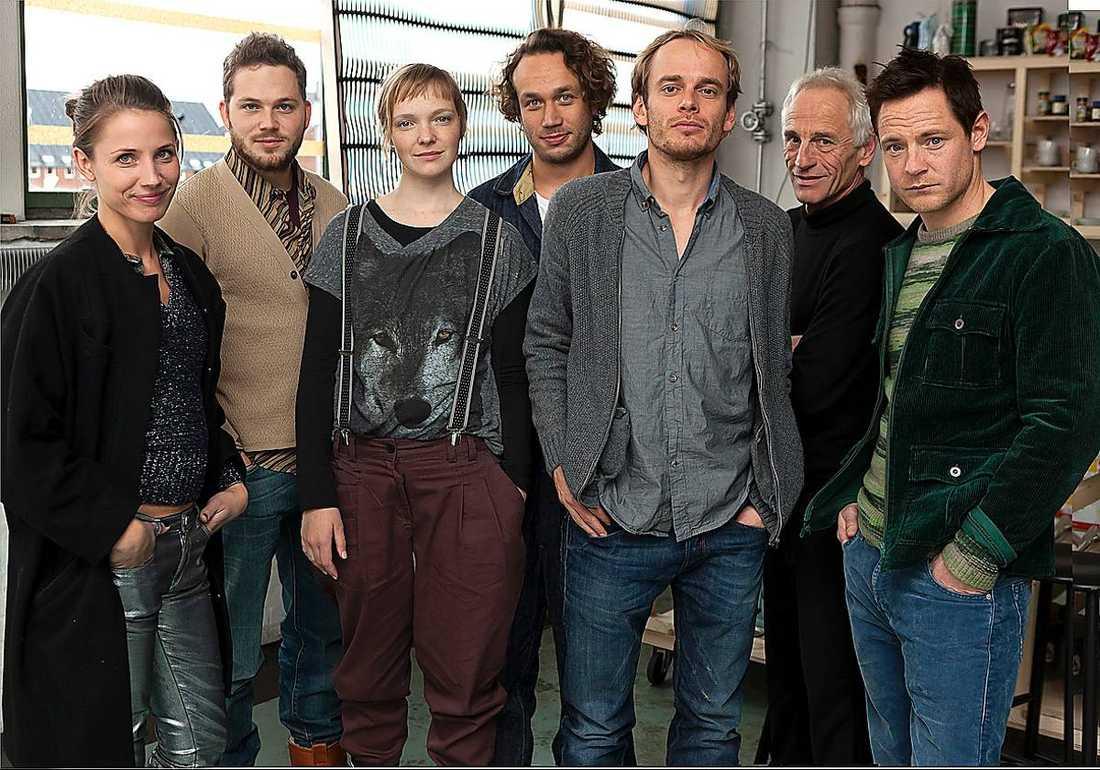 The Spiral, med Tuva Novotny i en av rollerna drar ingen storpublik till tv-sofforna.