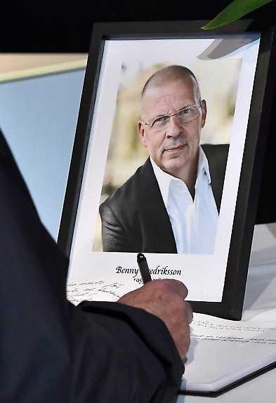 Benny Fredriksson, chef för Kulturhuset i Stockholm, tog sitt liv i mars i år.
