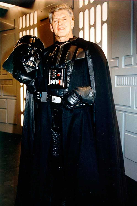 """MANNEN BAKOM MASKEN David Prowse spelade Darth Vader i de tre första """"Star Wars""""-filmerna."""