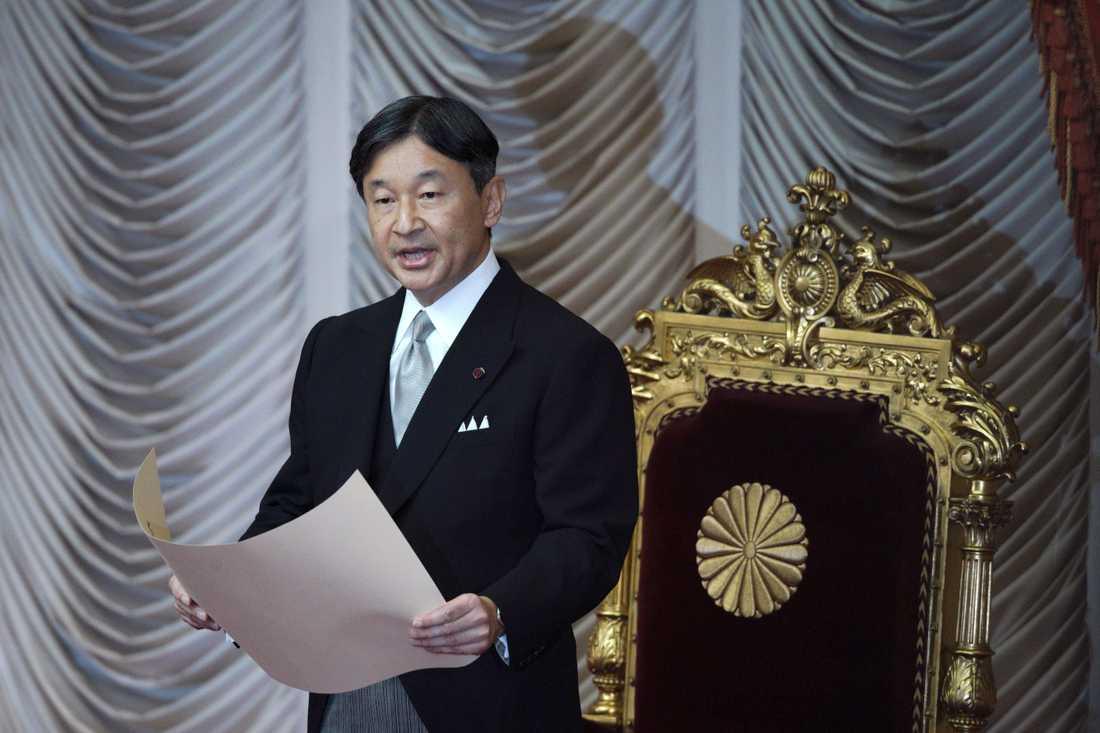 Japans kejsare Naruhito.