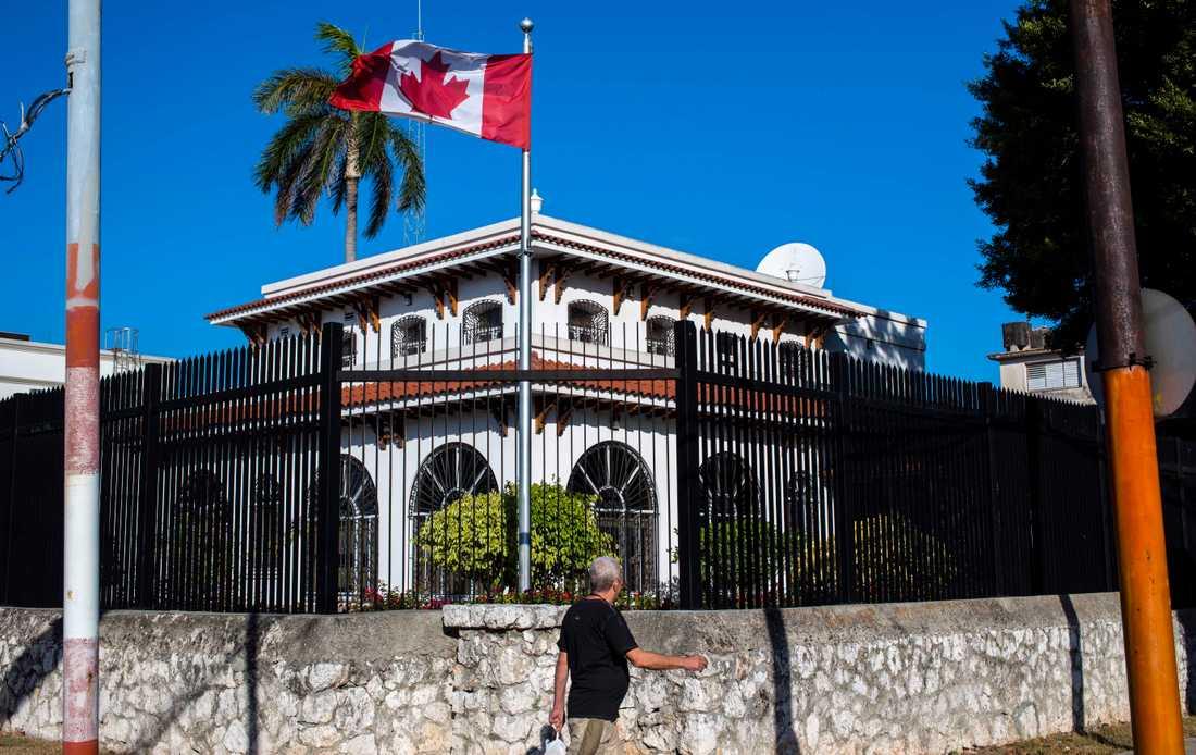 Kanadas ambassad i Havanna. Arkivbild.