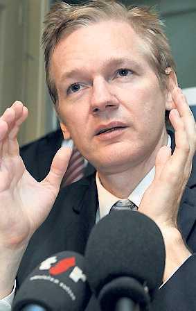 Julian Assange, Wikileaks grundare.
