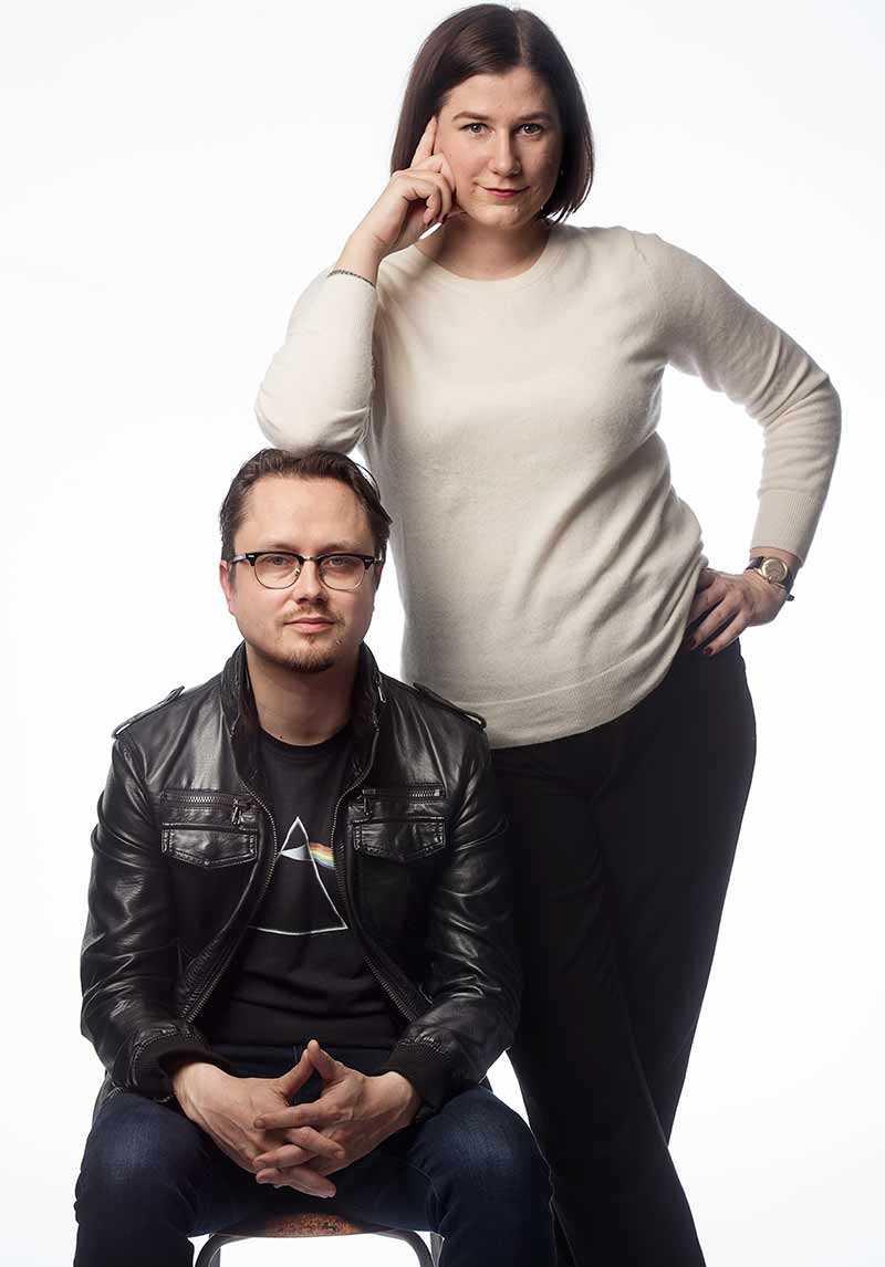 Kristin Lundell och Markus Larsson.