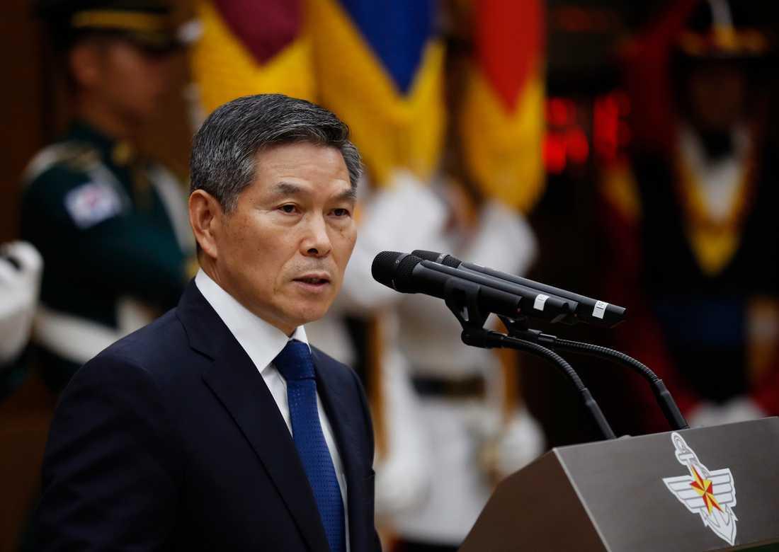 Sydkoreas försvarsminister Jeong Kyeong-Doo. Arkivbild.