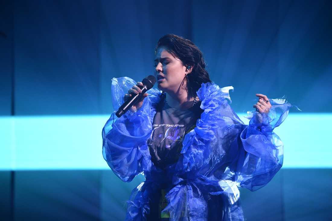 """Molly Sandén ger röst åt den kvinnliga huvudpersonen i """"Eurovision Song Contest: The story of Fire Saga"""", som Grammynominerats. Arkivbild."""