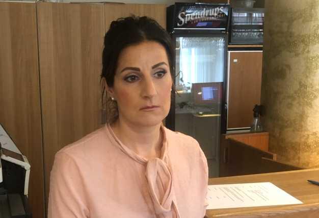 Hotelldirektören Birgitta Azizsson.