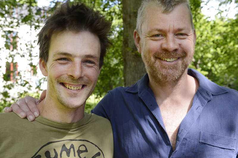 Simon Dale och John Higson.