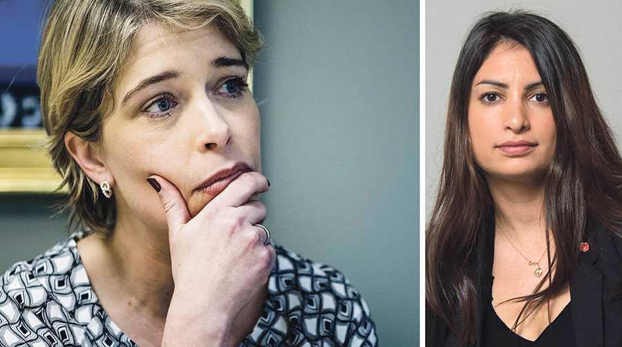 I dag ska riksdagen rösta om misstroende mot socialförsäkringsminister Annika Strandhäll – och plötsligt låtsas M och KD att de bryr sig om anställningstryggheten, skriver Nooshi Dadgostar.