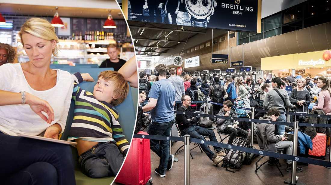 Flygplatsdirektören Peder Grunditz tipsar om hur din flygresa blir lättare.