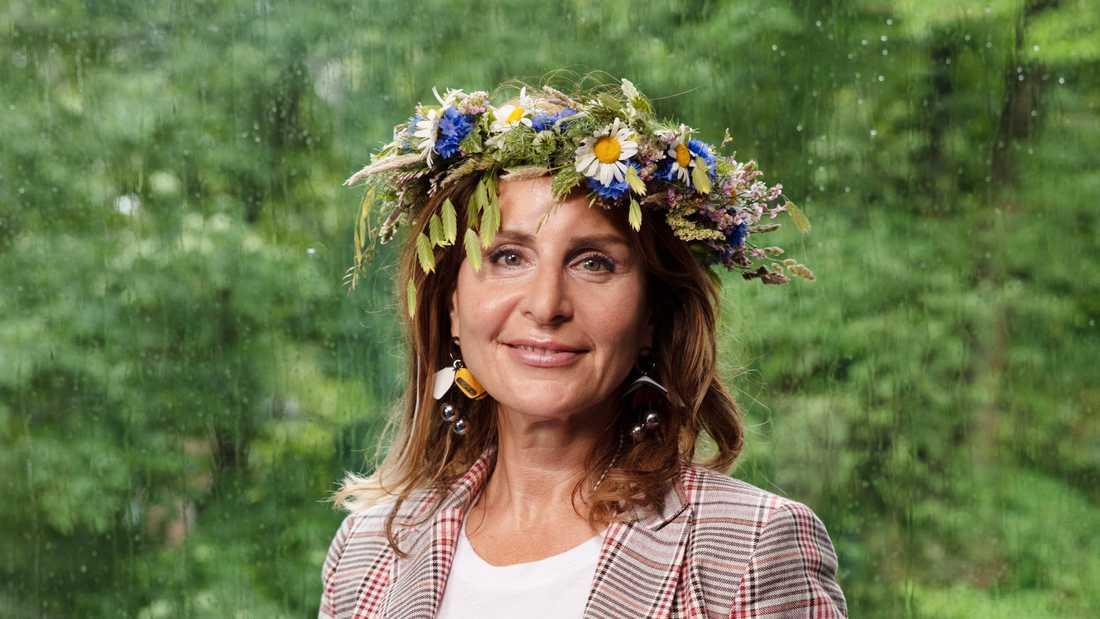Maria Borelius.