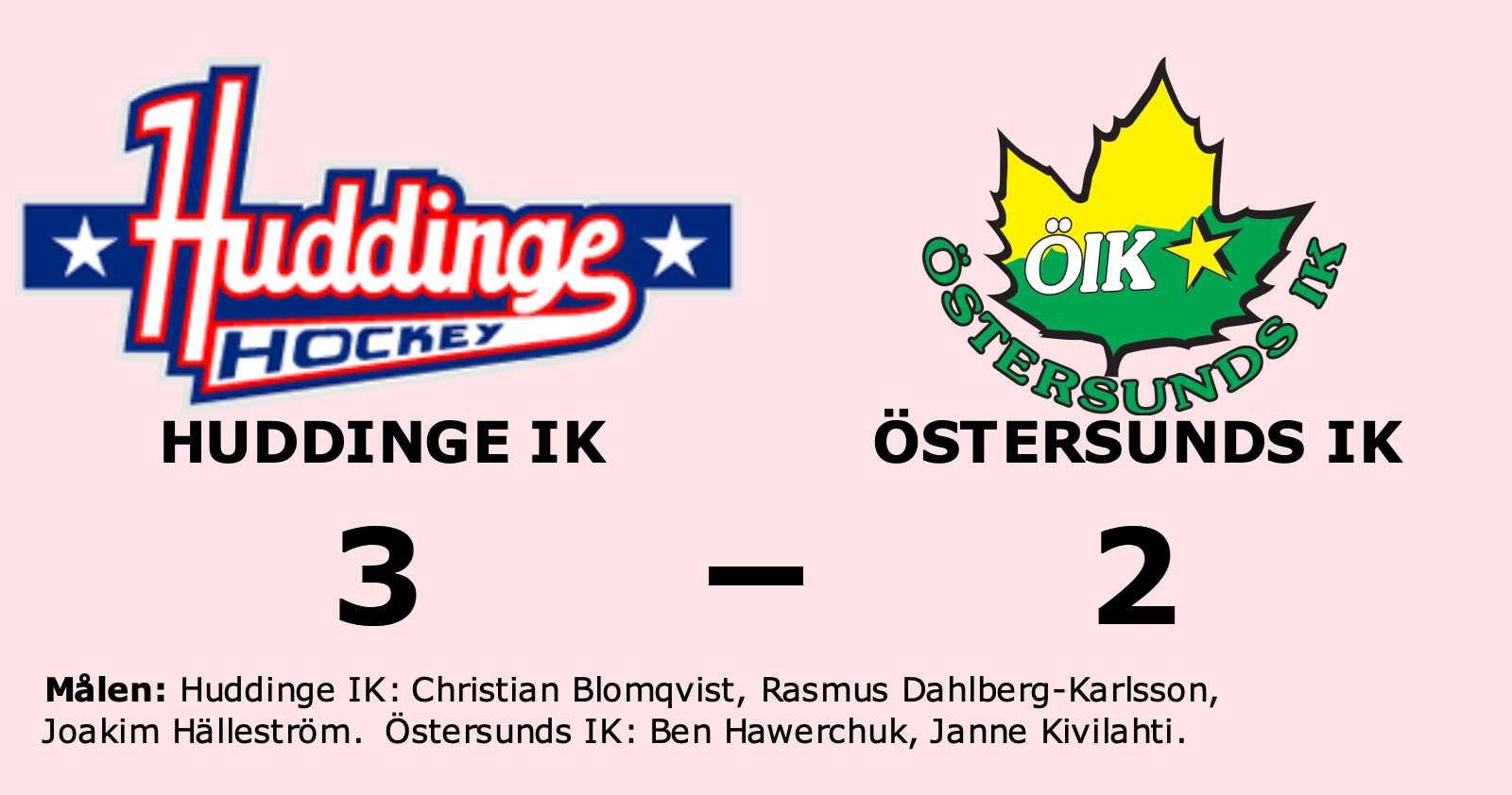 Seger för Huddinge IK som utjämnade mot Östersunds IK