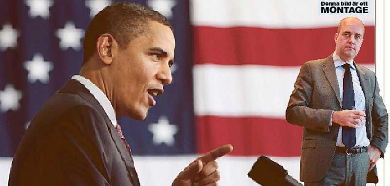 Fredrik Reinfeldt borde lära sig ett och annat av Barack Obama när det gäller politisk vilja i klimatfrågan.