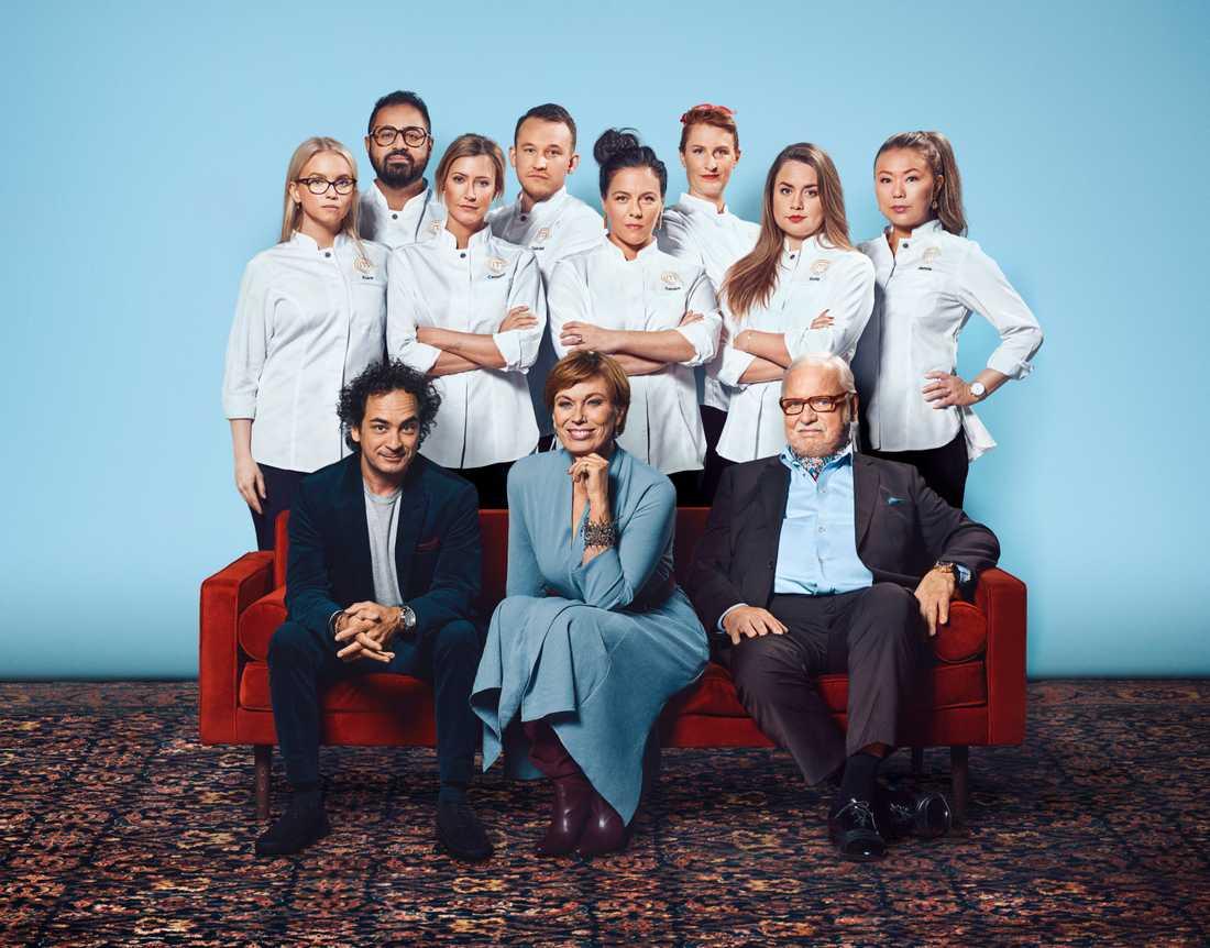"""""""Decenniets mästerkock"""", där åtta tidigare mästerkocksvinnare tävlar mot varandra, har premiär på TV4 i september."""