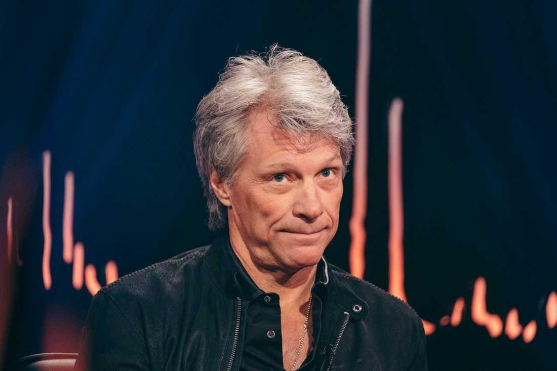 "Jon Bon Jovi i ""Skavlan""."