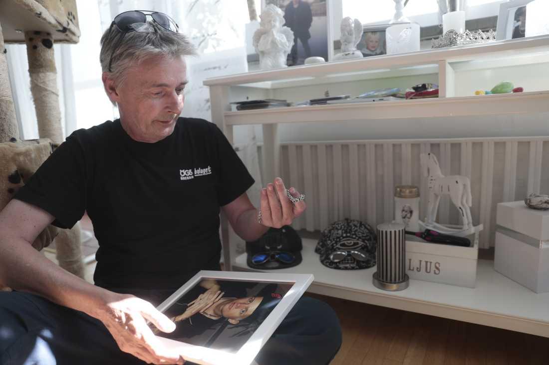 Tommy Jansson är pappa till Fredrik Jansson, en av dem som dog sedan de använt fentanylanaloger som två bröder sålt via nätet. Arkivbild.