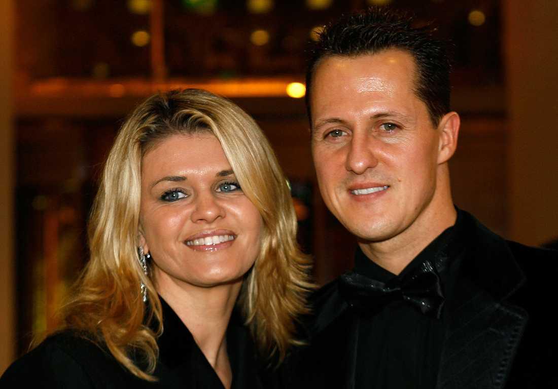 Michael Schumacher och Corinna har varit gifta sedan 1995.