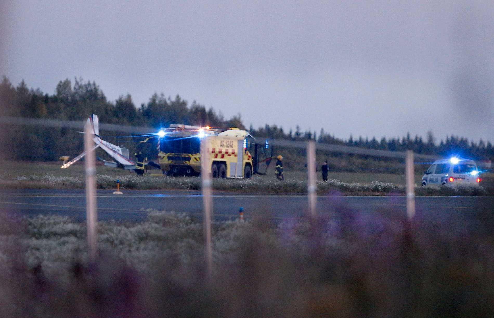 Flygolyckan i Finland.