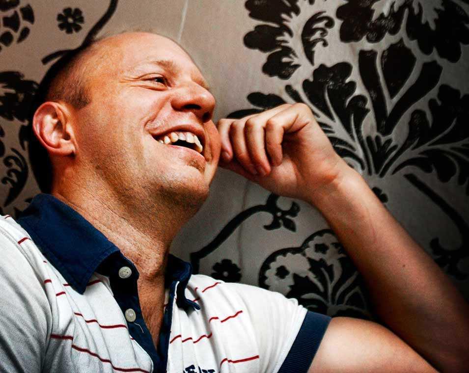 Anders Öhrman, chefredaktör för QX.
