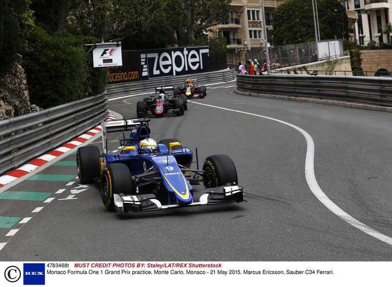 klassisk mark  Trånga gator och jetset-liv – Monaco är en klassiker i F1-kalendern.