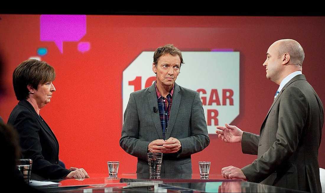 """Ekdal har jobbat på TV4 i 23 år och har bland annat varit programledare för """"Kalla fakta"""", debattprogram och valdebatter."""