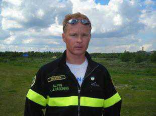 Fjällräddaren Stefan Nilsson. (Arkivbild.)