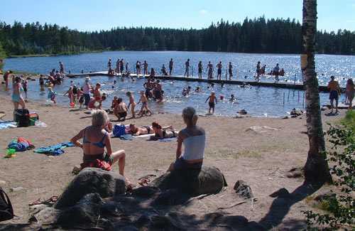 """""""Sommar vid södra Ånnabodasjön"""""""
