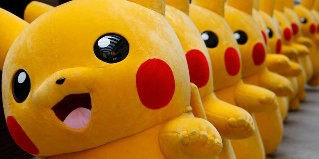 Pikachu-parad. Arkivbild.