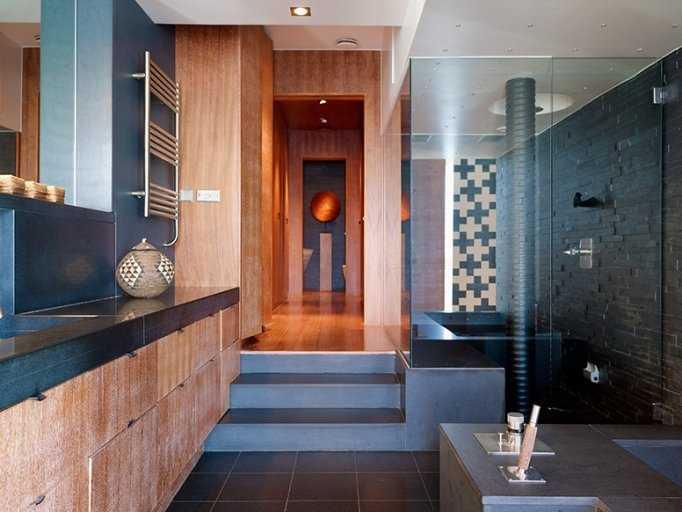 3. Bastu med separat rum i Stockholm. Huset: Antal rum: 5 – Boarea: 300 kvadratmeter – Pris: 33 000 000 kronor