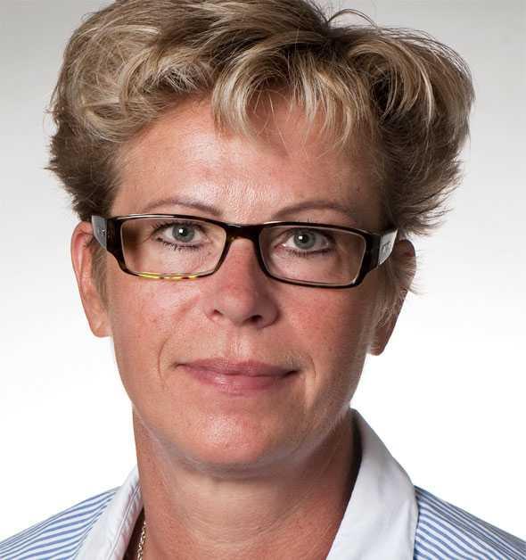 Anna Färg Hagansbo, verksamhetschef vid Handens närakut.