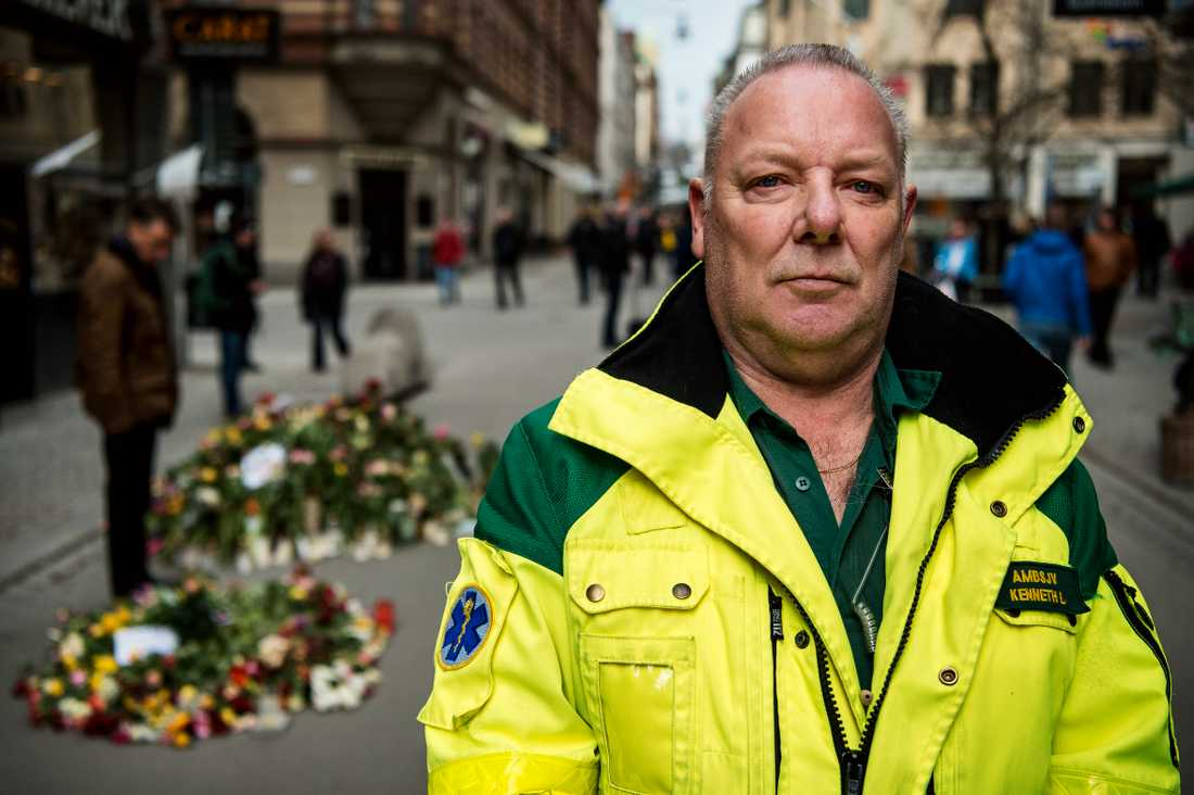 Kenneth Lavrell är en av landets mest erfarna ambulanssjukvårdare.