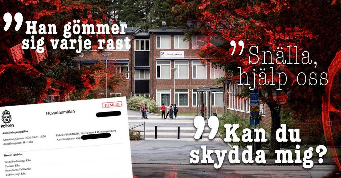 Pojkarna gick på Utmarksskolan i Kortedala i Göteborg.