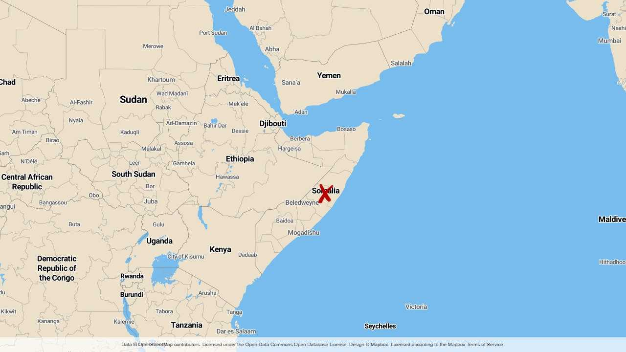Blodig maktkamp i somalisk region