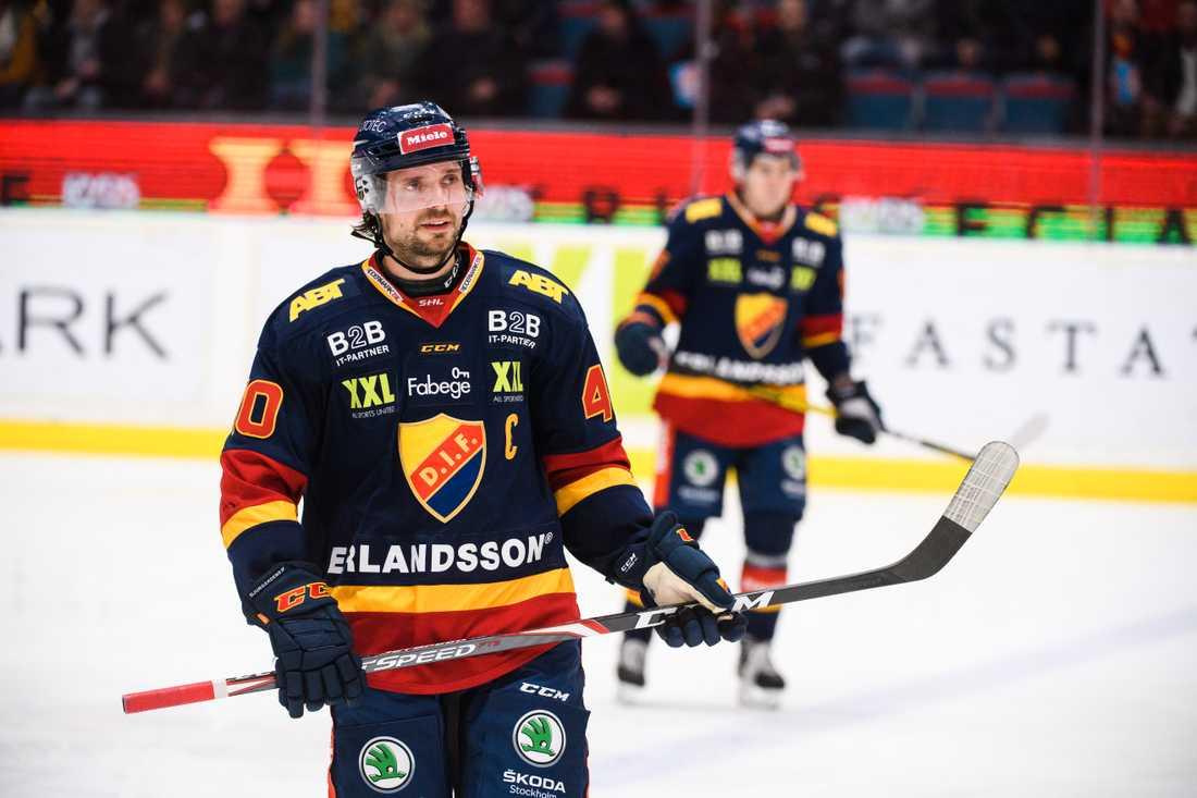 Jacob Josefson, lagkapten i Djurgården, har haft covid-19.