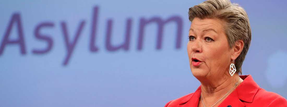 Ylva Johansson presenterade i dag ett förslag till ny, gemensam migrationspolitik för EU.