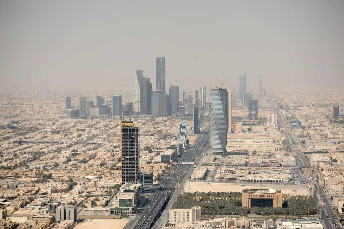 Splitter regnade ner över Riyad i Saudiarabien. Arkivbild.