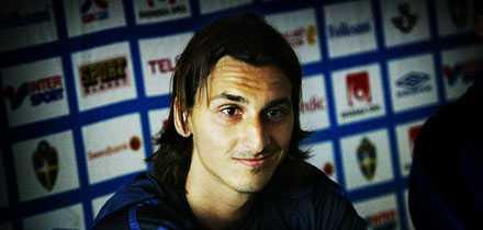 Zlatan Ibrahimovic har nyligen skrivit på ett superkontrakt med Inter. FOTO: OLA AXMAN