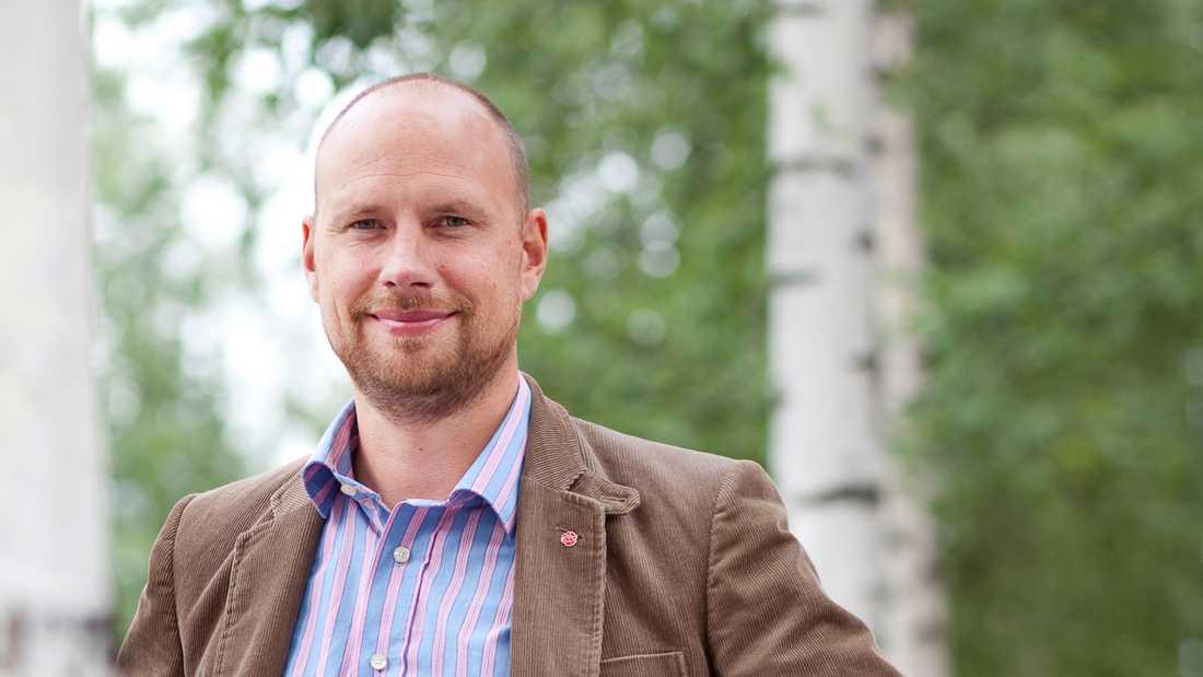 Kommunstyrelsens ordförande Hans Lindberg (S).
